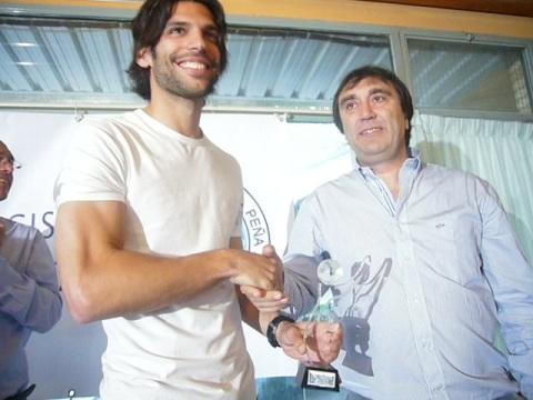 Ángel Lafita. Trofeo Lince Especial