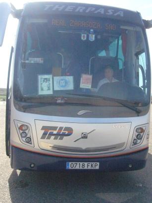 Autobus lafitero a Getafe