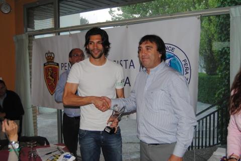 Lafita Trofeo Especial con Salva. Foto: Federación de Peñas RZ