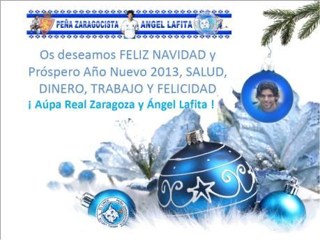 Felicitación Peña 2012 - 2013