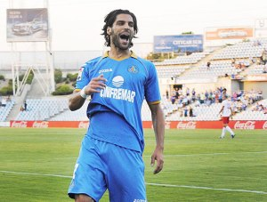 Lafita celebra el gol. Foto: Marca
