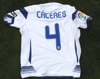 Camiseta Cáceres. Foto: Periódico de Aragón