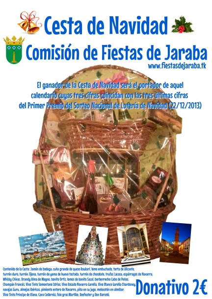 cartelCestaNavidadjaraba