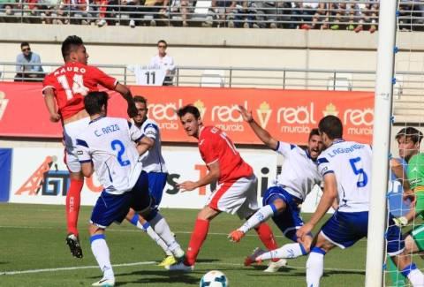 Real Murcia-R. Zaragoza. Foto: Periódico de Aragón
