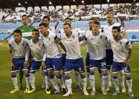 Once inicial ante Sporting. Foto: Heraldo