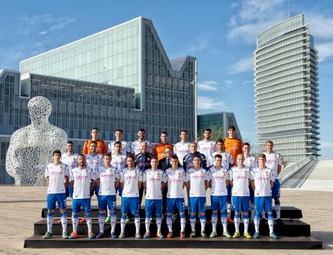Foto Real Zaragoza 2014-15 Tino Gil-Real Zaragoza